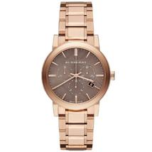 Burberry BU9754 The City Rose Gold Tone Chronograph 38mm - $379.00