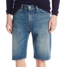 NEW LEVI'S MEN 569 PREMIUM COTTON LOOSE STRAIGHT DENIM SHORTS CROWLEY 355690203