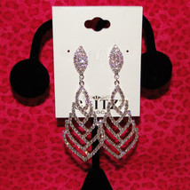 Glitz To Go Crystal Costume Earrings image 2