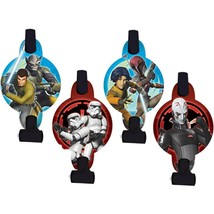 Star Wars Rebels Blowouts Party Favors 8 Per Package Birthday Party Supp... - $4.90