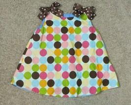 Polka Dot Bow Swing Top Shirt Size 5 - $7.69