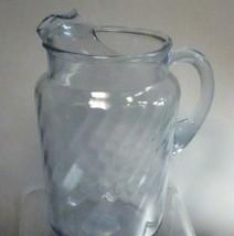indiana blue serene glass pitcher - $17.77