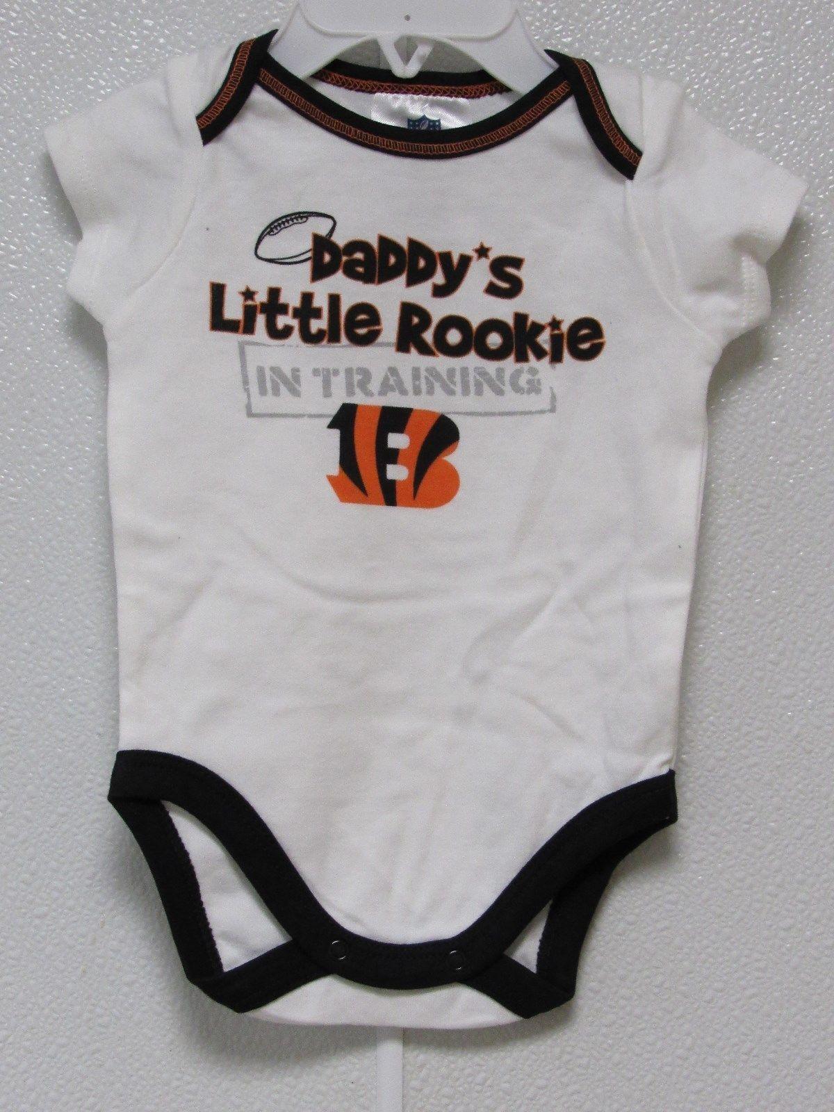 175a66a1 Nfl Nwt Infant ONESIE- Cincinnati Bengals 18 and 50 similar items
