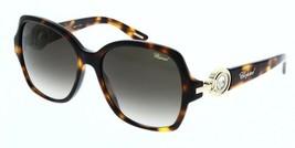 Chopard Mujer Gafas de Sol SCH206S 0748 Naranja Havana/Gris Degradado 56mm - $193.04