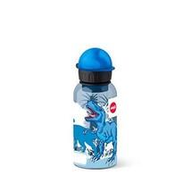 Emsa Gourde, Pour Enfants, 400 ml, Bouchon de Sécurité, Kids (Dinosaure) - $345,63 MXN