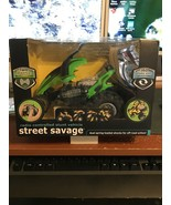 The Black Series Radio Controlled Street Savage Stunt Vehicle 27 MHz NEW - $10.00