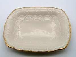 Lenox Candy/Nut Dish Hand decorated 24k Gold - $23.75