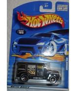 "2001 Hot Wheels Mattel Wheels ""Armored Car"" #185 Mint Car On Sealed Card - £2.54 GBP"