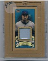2003 Topps 205 Relics #KL2 Kenny Lofton Uniform NM-MT MEM  - $35.60