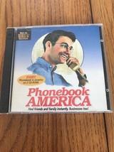 Every Phonebook In America On 2 CD-ROMs Ships N 24h - $49.38