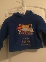 Rugrats Nickelodeon Boys Fleece PullOver Fleece Hoodie Sz XS 4/6 OuterWear - $25.20