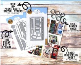 Phone Booth Special Kit.  Elizabeth Craft Designs .  image 2