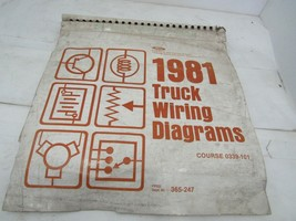 1981 Ford OEM Truck Wiring Diagrams - $29.65