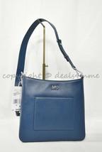 Michael Kors Gloria Pocket Swing Pack Leather Crossbody/Shoulde Bag in Luxe Teal - $159.00