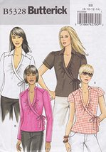 Butterick B5328, Misses' Top, Size BB(8-14), OOP - $4.94