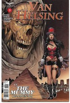 GFT VAN HELSING VS THE MUMMY OF AMUN RA #3 (OF 6) CVR B (Zenescope 2017) - $2.99