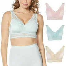 """Rhonda Shear 3-pc """"Betty"""" Pin-Up Bra with Pads and Adjustable Back, Ligh... - $24.74"""
