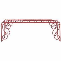 Old Home Kitchen Expandable Over Sink Shelf - Red - $44.22
