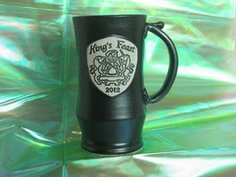 Texas Renaissance Festival 2012 kings feast beer meade ale beverage stein - $10.35