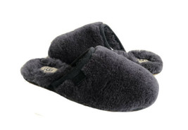Ugg Fluffette Navy Shearling Lined Slippers Us 8 / Eu 39 / Uk 6 - $88.83