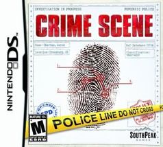 Crime Scene - Nintendo DS [video game] - $13.28