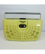 Vintage 1970s Panasonic RS-833S Swiss Cheese 8 Track Player MCM Space Age - $98.95