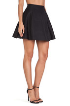 NWT $278 Kate Spade Black Tokyo Lula Cotton Silk Skirt. black SZ: 2 - $98.01