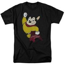 Mighty Mouse Superhero Retro 80s Cartoon Character TV series distressed CBS672 image 1