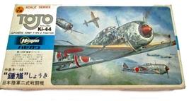 Hasegawa Tojo Ki-44 Type 2 Japanese WW2 Fighter Model Kit - $15.95