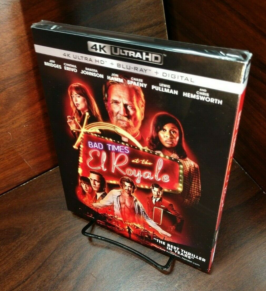 Primary image for Bad Times At The El Royale (4K UHD+Blu-ray-No Digital) Slipcover-Free SHIPPING~