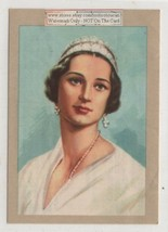 Astrid of Sweden Queen of the Belgians Vintage Ad Trade Card - $4.49