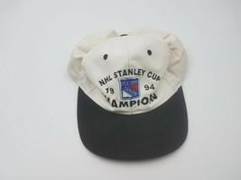 Vintage NHL Stanlet Cup 1994 Champion New York Rangers Snapback Hat - $59.39