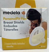 Medela Personal Fit  Flex Breast Shields 2 Count 24mm Brand - $12.54
