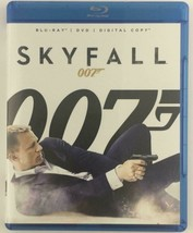 Skyfall (Blu-ray/DVD, 2013, 2-Disc Set) JAMES BOND 007 DAVID CRAIG JUDI ... - $5.65
