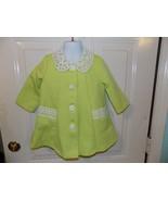 Bonnie Baby Boutique Green Jacket Size 18 Months Girl's EUC - $29.99