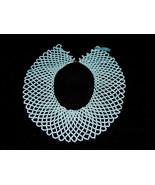 """Beautiful Vintage 2 1/4"""" Wide Multi Mini Beaded Collar Necklace Retro 13... - $45.98"""