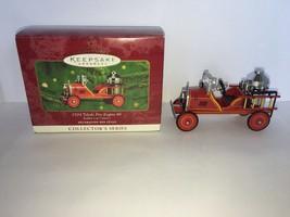 Hallmark Keepsake Ornament 1924 Toledo Fire Engine #6 In Series 2000 - $7.50