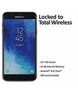 Total Wireless Samsung Galaxy J7 Crown 4G LTE Prepaid Smartphone (Locked... - $103.07