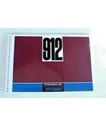 1967 Porsche 912 Owners Manual Parts Service new reprint  1966 - $128.69