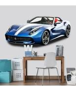 3D Ferrari T053 Car Wallpaper Mural Poster Transport Wall Stickers Sunday - $29.65+