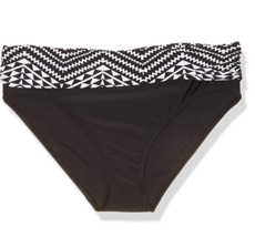 Ellen Tracy Women's Black and White Bikini Bottom Size 10 New with tags - $12.86