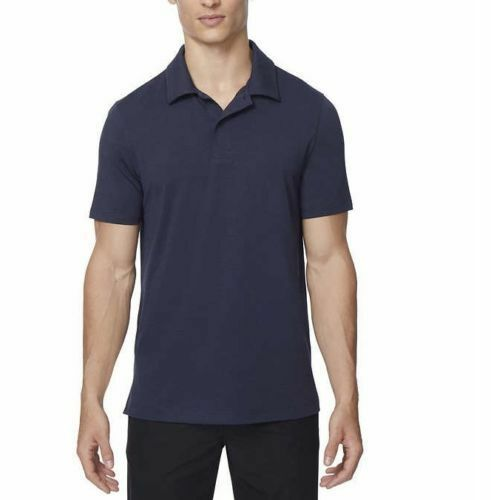 NEW 32 Degrees Men's Performance Polo, Stormy Night Blue