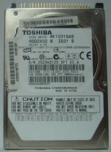 "New MK1031GAS Toshiba HDD2A02 100GB 2.5"" 9.5mm IDE 44pin Hard Drive Free... - $39.15"