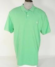 Chaps Green Short Sleeve Polo Shirt Mens NWT - $26.24