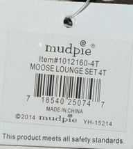 Mudpie Two Piece Lounge Set Size 4 T Moose Print 1012160 image 8