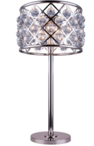 NEW Crystal Drum Lamp Restoration Hardware Spencer Replica French Modern... - $639.00