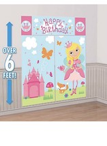 Woodland Fairy Scene Setter Birthday Party Decorations FREE USA SHIPPING - $8.90