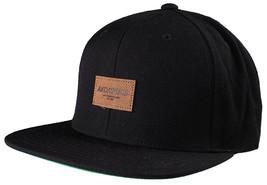 New Akomplice Black Flamingo Mob Est. 2004 Label Patch Snapback Baseball Hat image 2