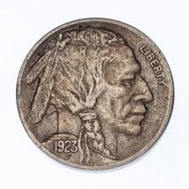 1923-S 5 Céntimos Buffalo Niquel 5C ( XF Condición) - $177.47