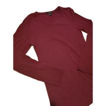 U2B Long Sleeves Cotton Shirt burgundy L/G  - $10.00